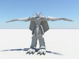 War Greymon 3d model