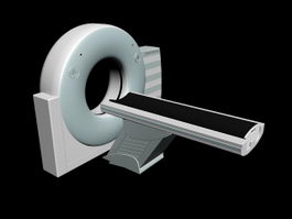 SOMATOM Spirit CT Scanner 3d model
