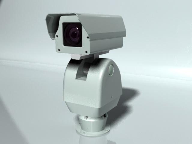 Outdoor Security Camera 3d model