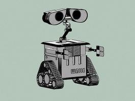 WALL-E 3d model