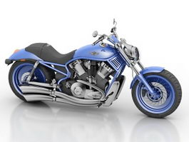 Harley-Davidson Motorcycle 3d model