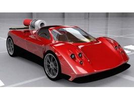 Pagani Zonda 3d model