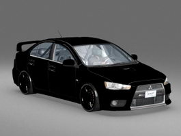 Mitsubishi Lancer Evolution 3d model