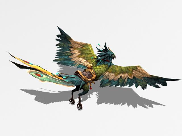 Phoenix Mount Rig 3d model rendered image