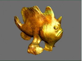Frogfish 3d model