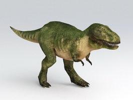 Animated Tyrannosaurus Rex 3d model