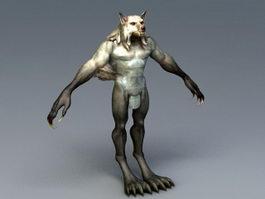 Human Werewolf 3d model
