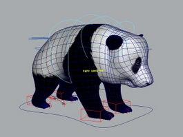 Panda Rig 3d model