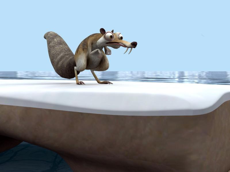Ice Age Scrat 3d model Maya,Object files free download - modeling