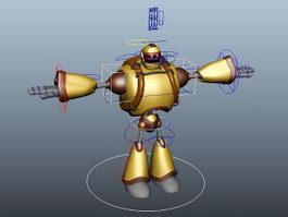 Robot Rig 3d model