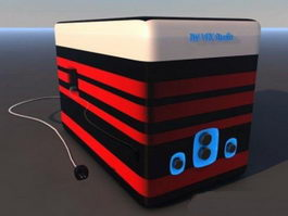 Desktop Speaker 3d model