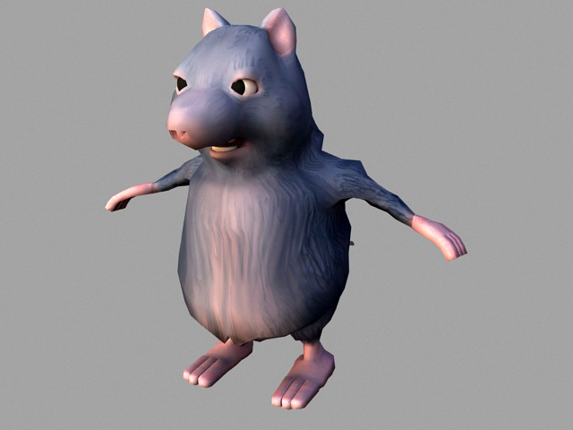 fat rat rig 3d model 3ds max files free download modeling 45705 on