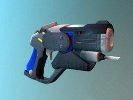 Overwatch Mercy Combat Medic Ziegler Blaster Pistol 3d model