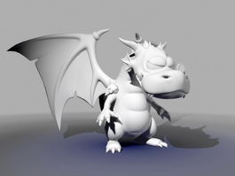Cute Dragon 3d model