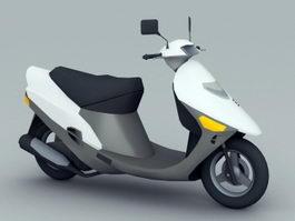 Motor Scooter 3d model