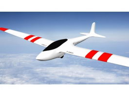 Simple Airplane 3d model