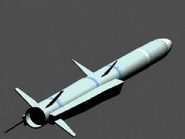 MBDA Meteor Missile 3d model