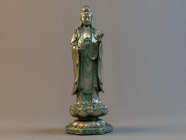 Guanyin Statue 3d model