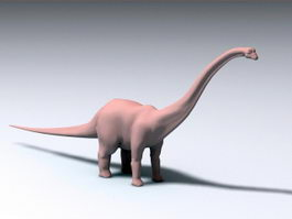 Barosaurus Dinosaur 3d model