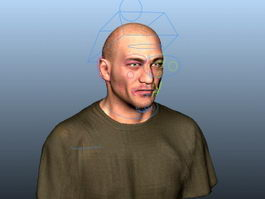 Portrait Man Male 3d model