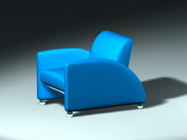 Single Sofa Chair 3d model