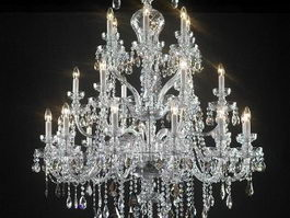 American Crystal Chandelier 3d model
