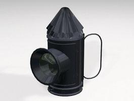 Bull Eye Lantern 3d model