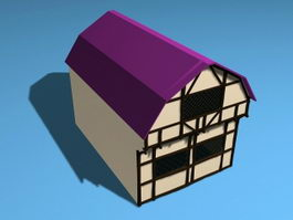 Medieval House 3d preview