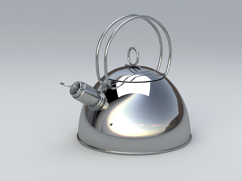 Tea Kettle 3d Model 3ds Max Files Free Download Modeling