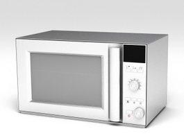 Built Microwave 3d model