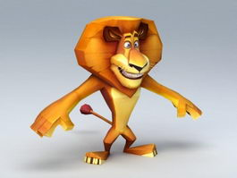 Lion 3d Model Free Download Cadnav Com