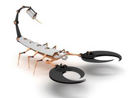 Robotic Scorpion 3d model