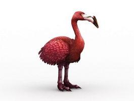 Toucan Breed Ostrich 3d model