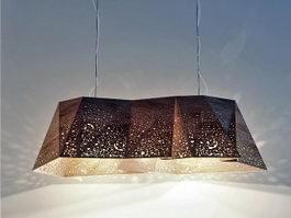 Geometric Pendant Light Dining