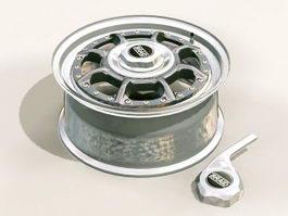 Braid Wheel Rim 3d preview