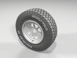 Goodyear Wheel 3d model