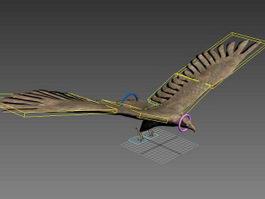 Black Falcon Rig 3d model
