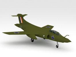 Blackburn Buccaneer 3d model