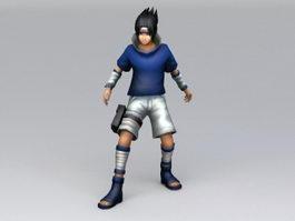 Sasuke Uchiha 3d model