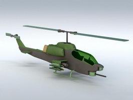 AH-1 Cobra 3d model
