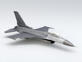F-16C Fighting Falcon 3d model