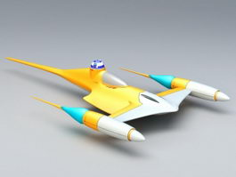 Naboo N-1 Starfighter 3d model