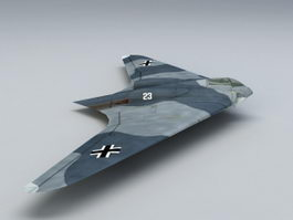 Ho 229 Fighter Bomber 3d model