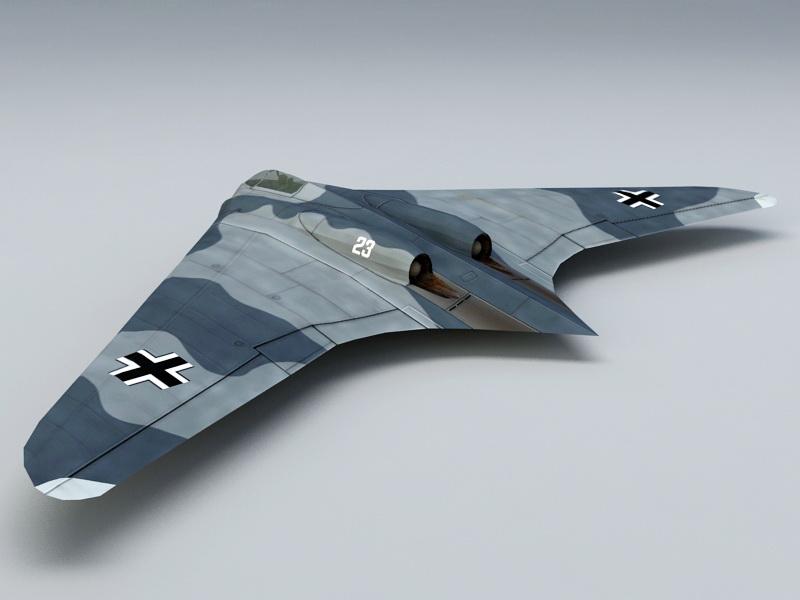Ho 229 Fighter Bomber 3d Model Files Free Download
