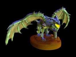 Devil Dragon 3d model