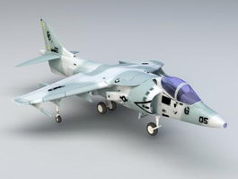 Sea Harrier Strike Fighter 3d model