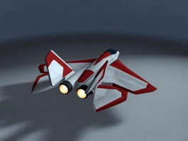 Mitsubishi X-2 Shinshin 3d model