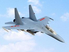 Shenyang J-11 Air Superiority Fighter 3d model