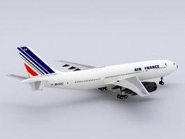 Air France Airbus 3d model
