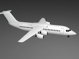 Avro RJ85 Airliner 3d model